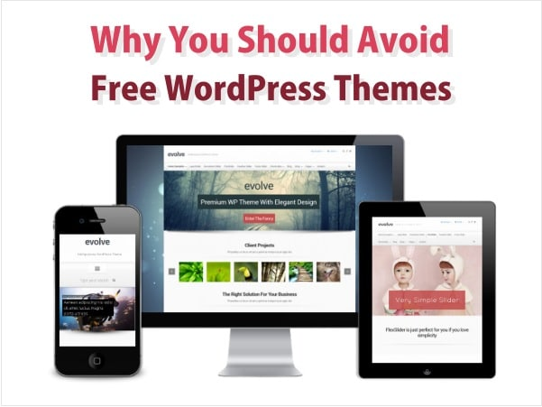 5 Reasons You Should Avoid Free Wordpress Themes