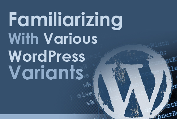 Familiarizing With Various WordPress Variants