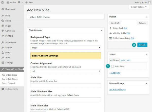 Create Slide