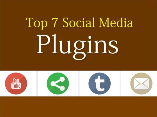 Top 7 Social Media Plugins for WordPress