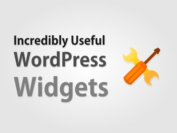 10 Incredibly Useful WordPress Widgets