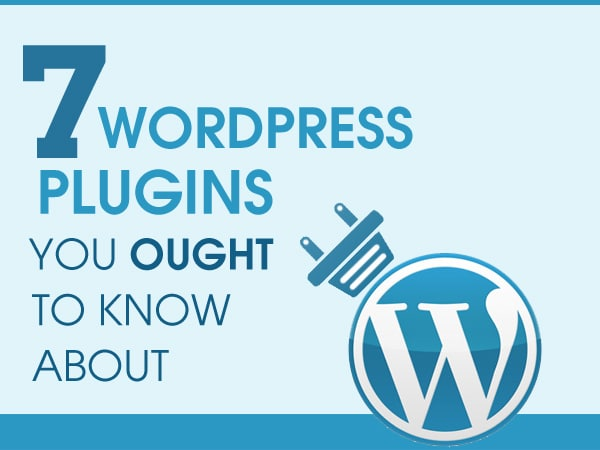 7 WordPress Plugins You Ought to Know About