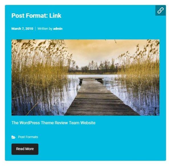 Link Post Format