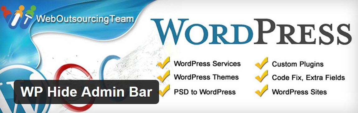 wp-hide-admin-bar