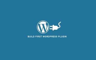 Build first WordPress Plugin