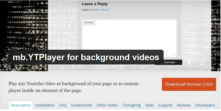 How to Add Video Background in WordPress