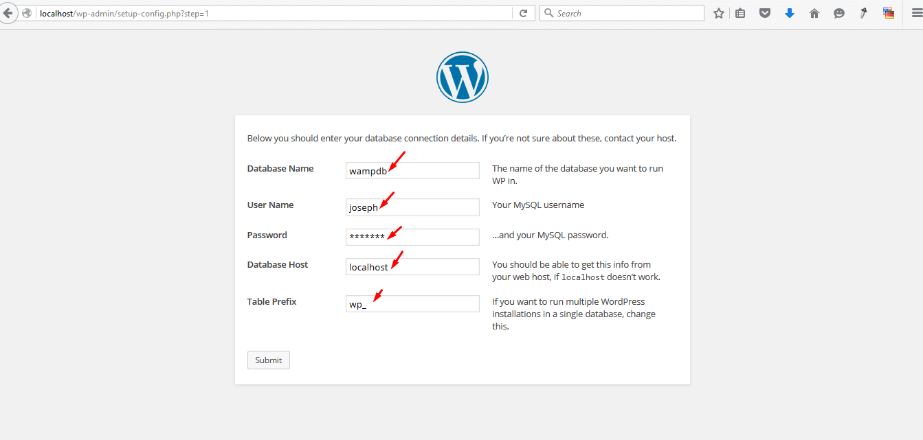 Theme4press installing wordpress on localhost wamp installing wordpress on localhost wampserver baditri Gallery