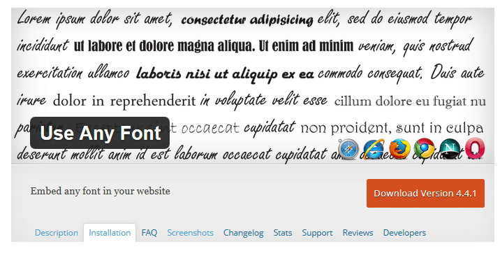 Adding WordPress Custom Fonts in WordPress Themes