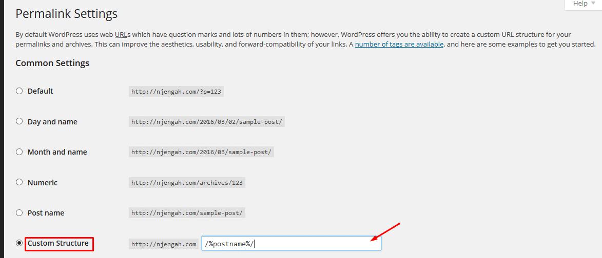WordPress on-page SEO
