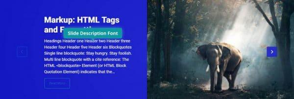 Slide Title Font Background Color