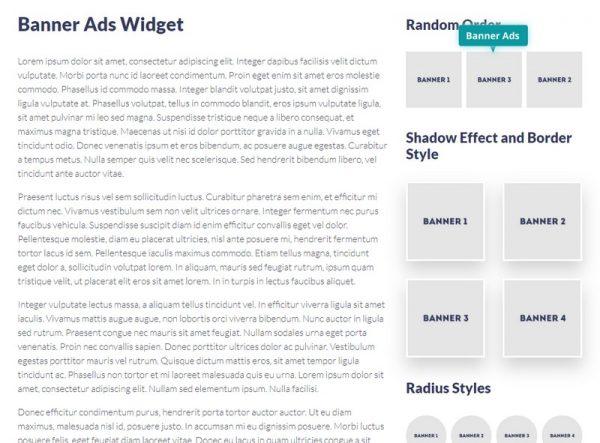 Banner Ads Widget