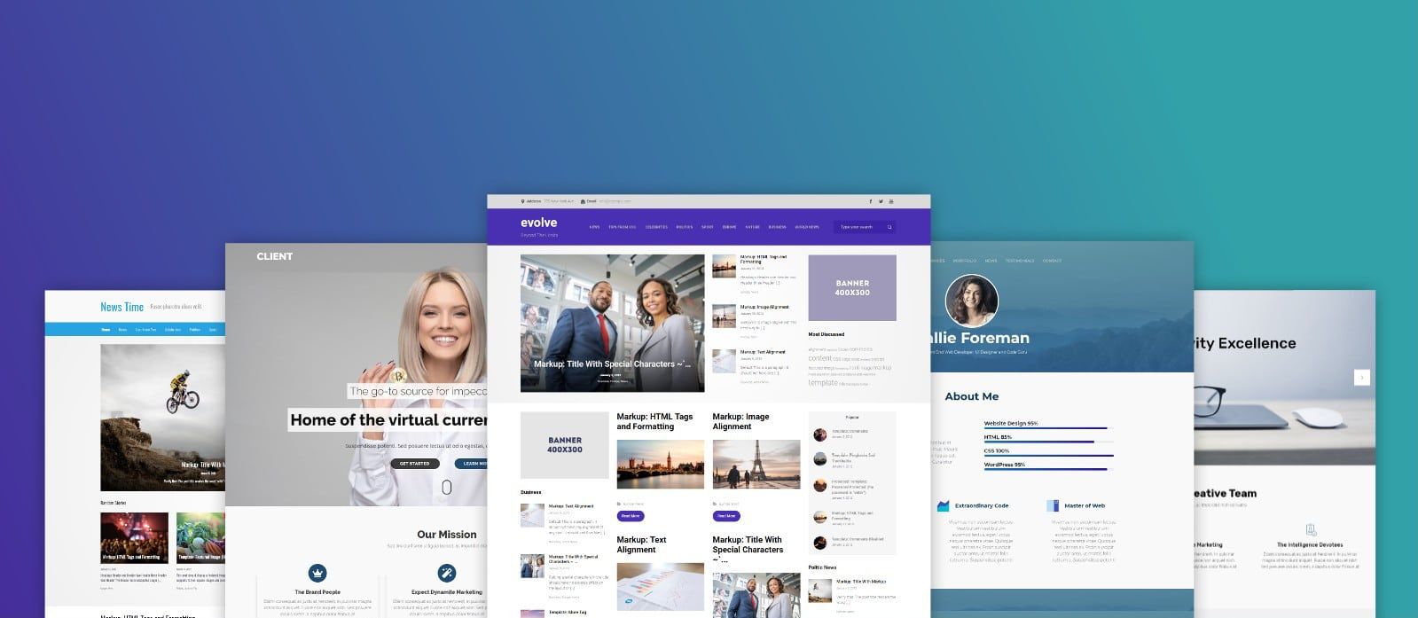 evolve - WordPress Theme
